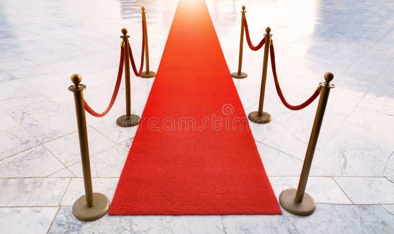 Roter Teppich der Gala vektor abbildung
