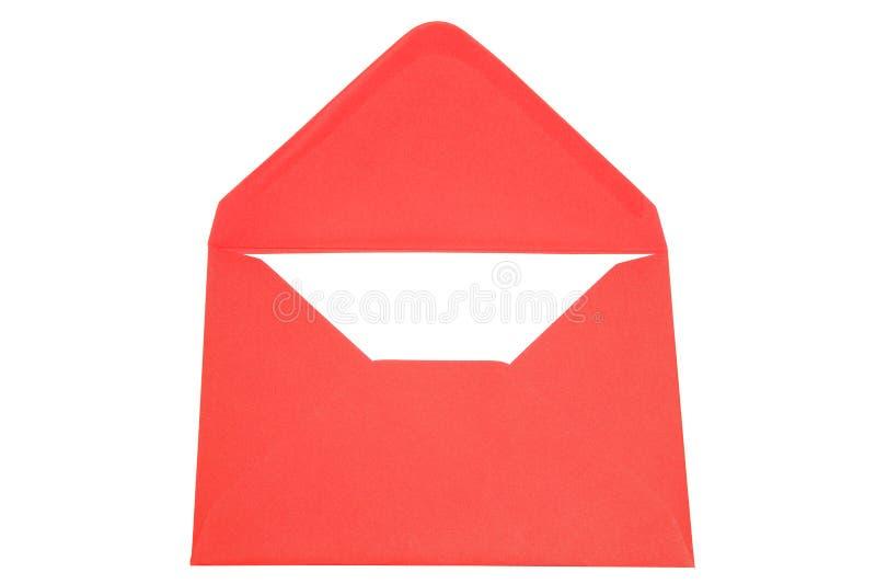 Roter Umschlag lizenzfreie stockfotos