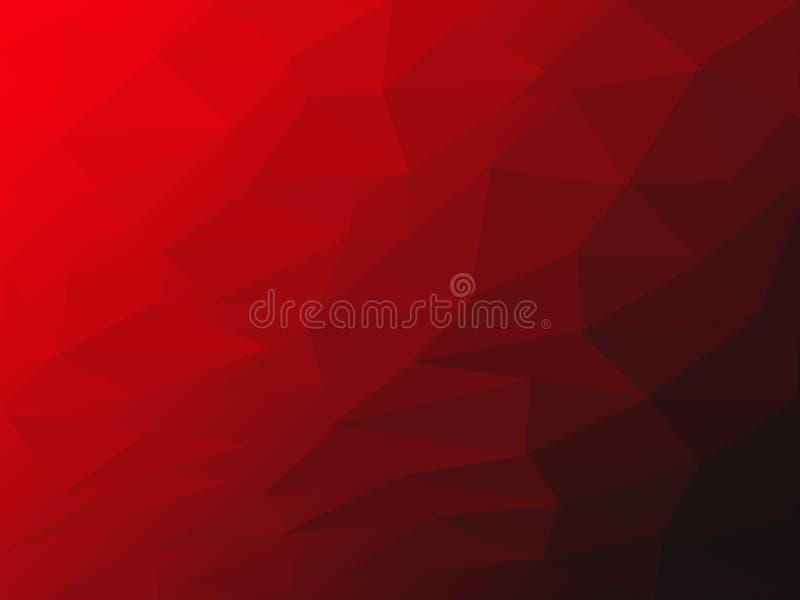 Roter und schwarzer Farbbeschaffenheitsillustrationshintergrund der schönen Nahaufnahme und Tapete stock abbildung