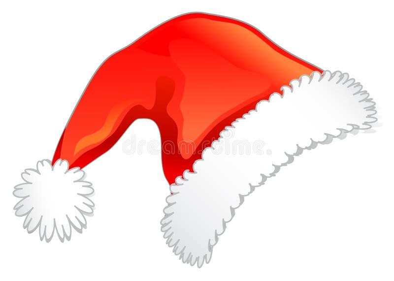 Roter Weihnachtshut vektor abbildung