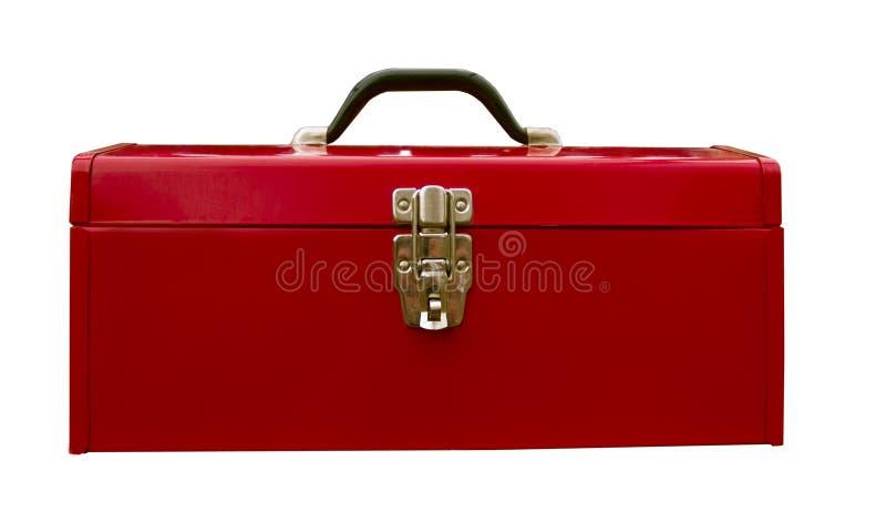 Roter Werkzeugkasten stockbilder