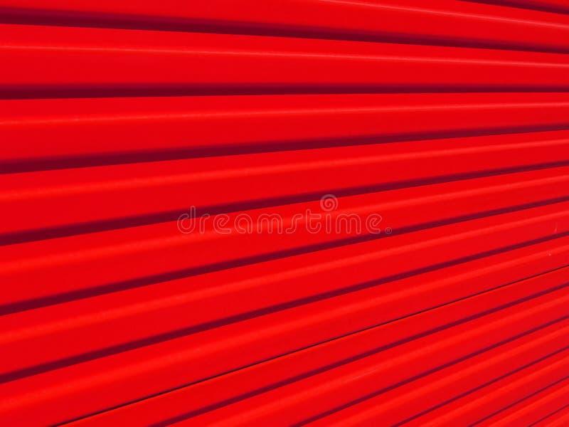 Roter Zaun lizenzfreies stockfoto
