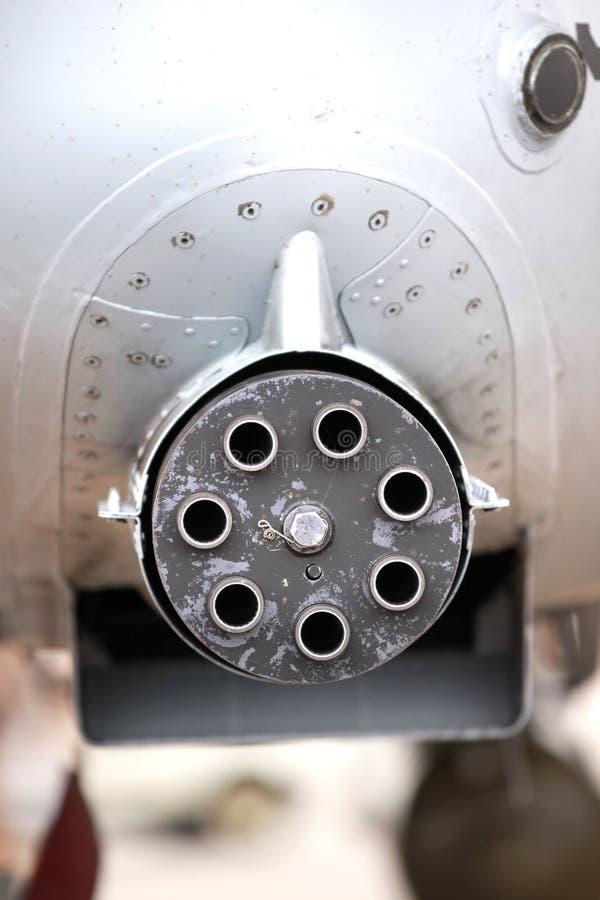 roterande canon arkivbild
