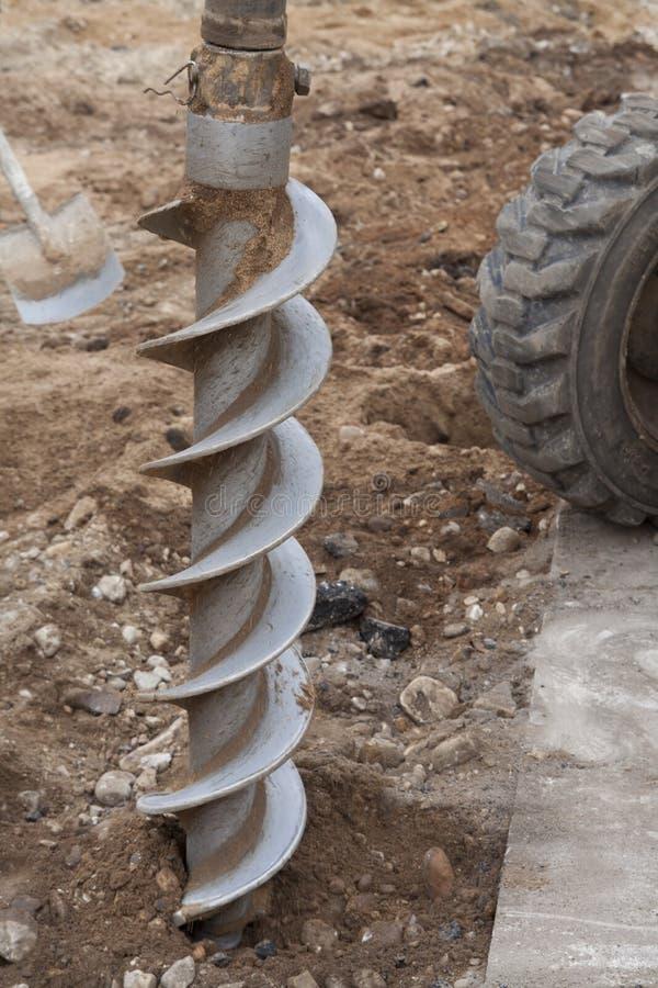 roterande drill arkivfoto