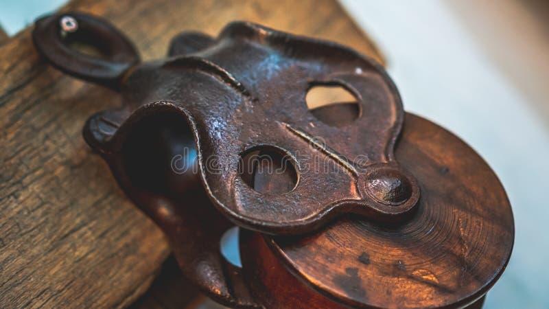 Roterande hjälpmedel för handtagspindelmaskin royaltyfri fotografi