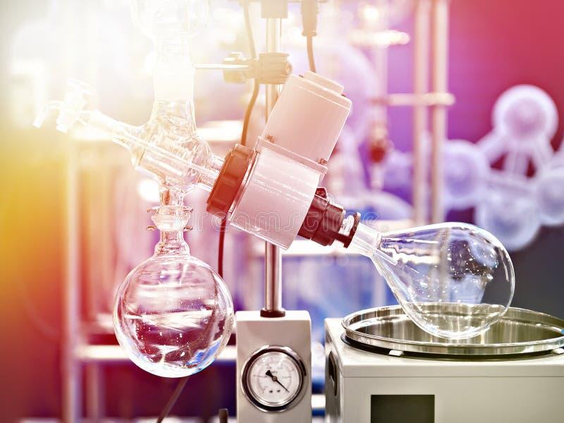 Roterande luftfuktare för laboratorium för kemi royaltyfria bilder