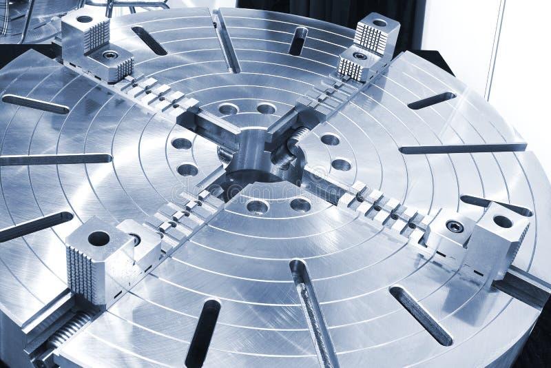 Roterande tabell för kraftig industriell utrustning royaltyfri fotografi