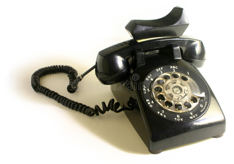 Download Roterande telefon fotografering för bildbyråer. Bild av tala - 45005
