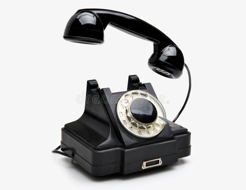 roterande telefontappning arkivfoto