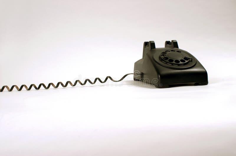 roterande white för telefon arkivbilder
