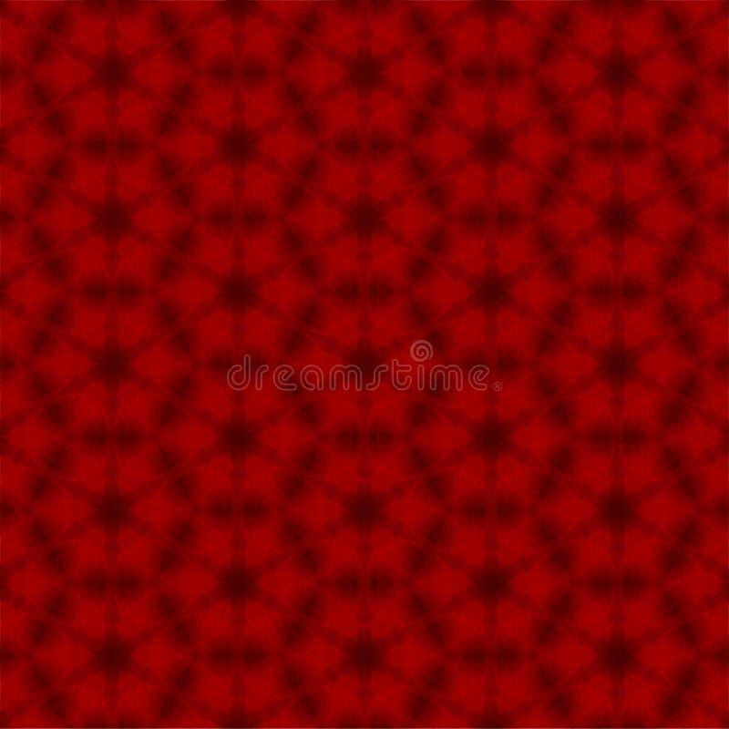 Rotes abstraktes Muster stockbilder