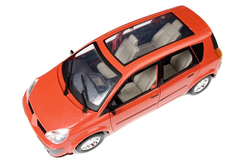 Rotes Auto stockbild