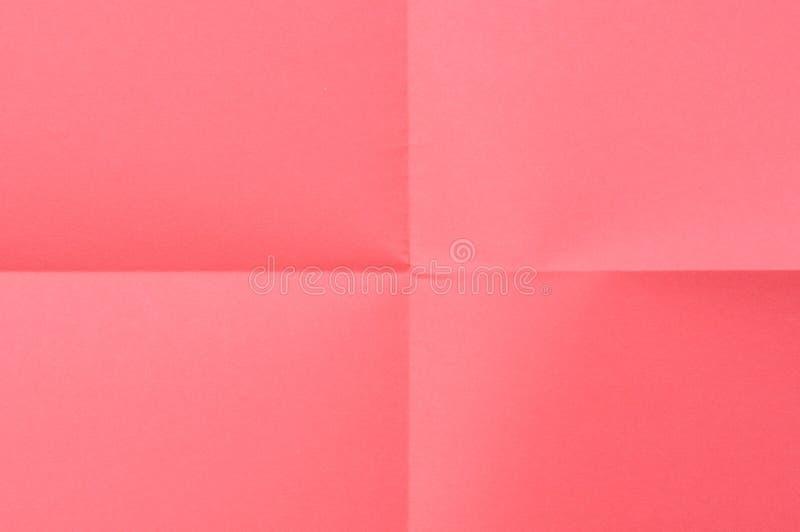 Rotes Blatt Papier stockfotos