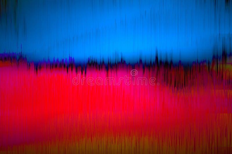 Rotes blaues grunge vektor abbildung
