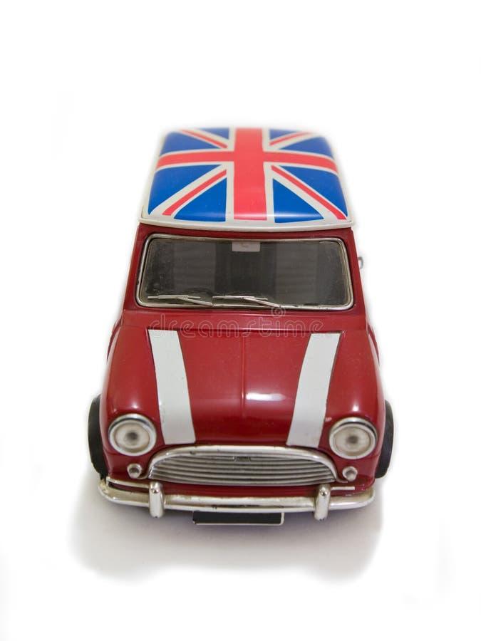 Rotes BRITISCHES Mini lizenzfreies stockfoto