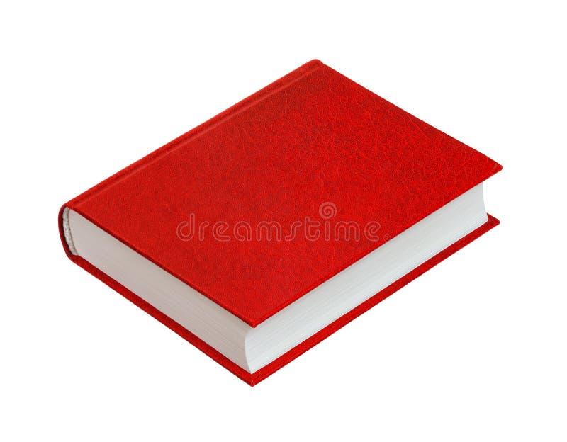 Rotes Buch lizenzfreie stockbilder