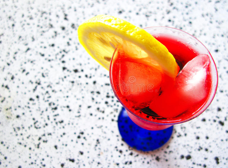 Rotes Cocktail stockfoto