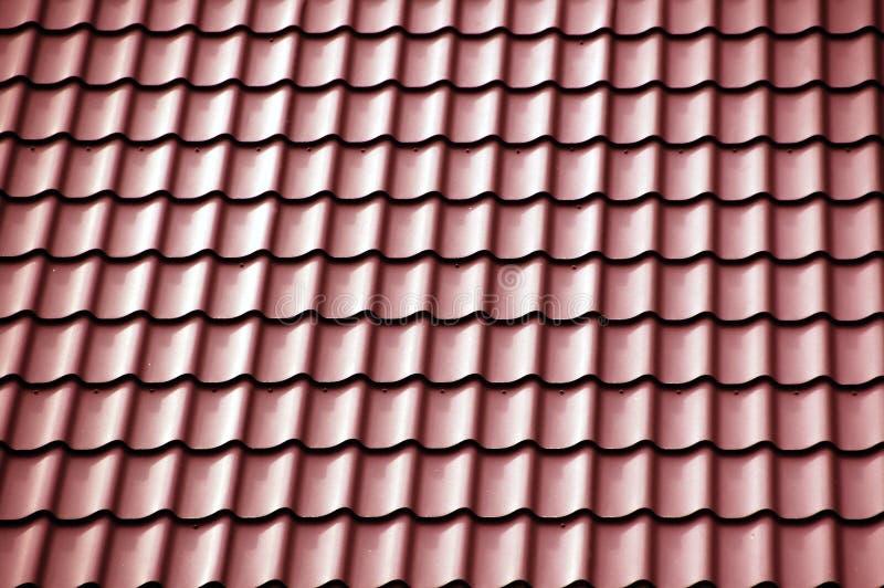 Rotes Dach lizenzfreies stockbild