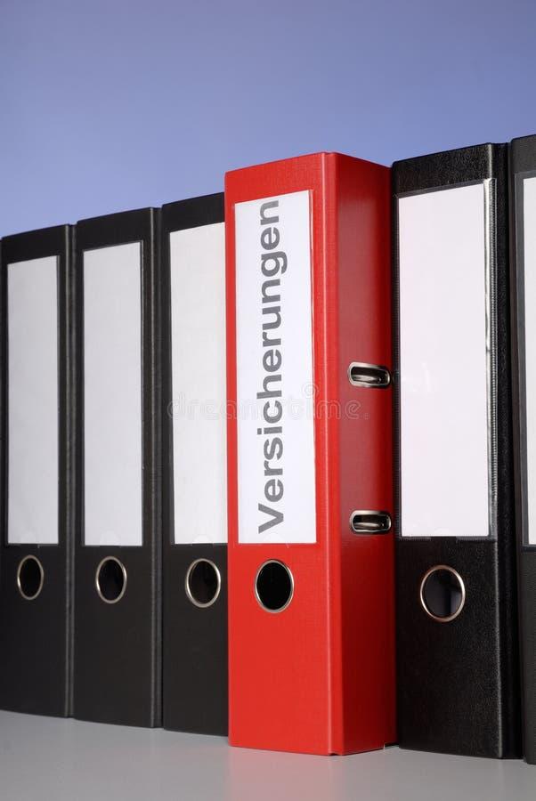 Rotes Dateifaltblatt lizenzfreie stockbilder