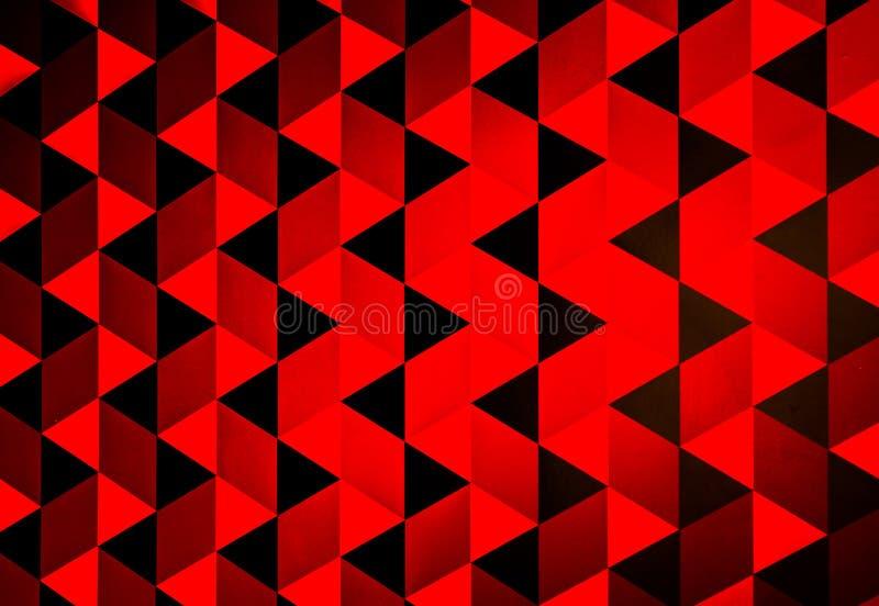 Rotes Dreieck stockbilder