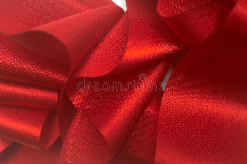 Rotes Farbband I stockbilder