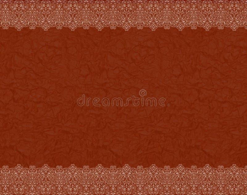 Rotes Feld stock abbildung