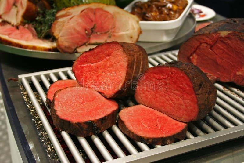 Rotes Fleisch stockfotos