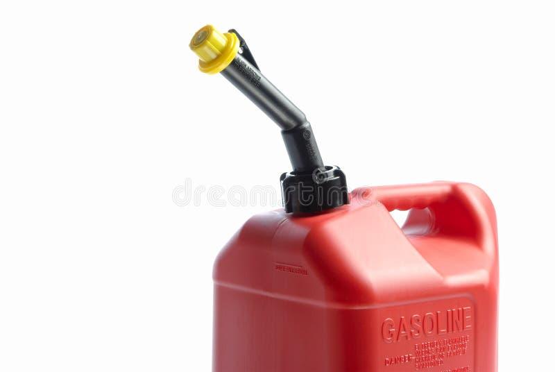 Rotes Gas kann lizenzfreies stockbild