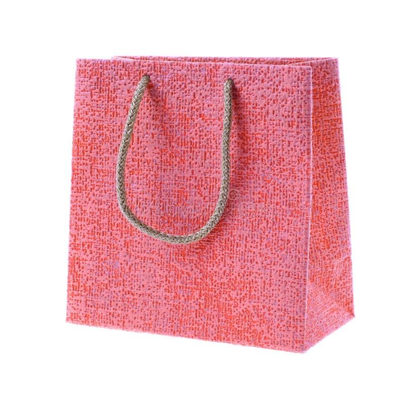 Rotes Geschenk lizenzfreie stockbilder