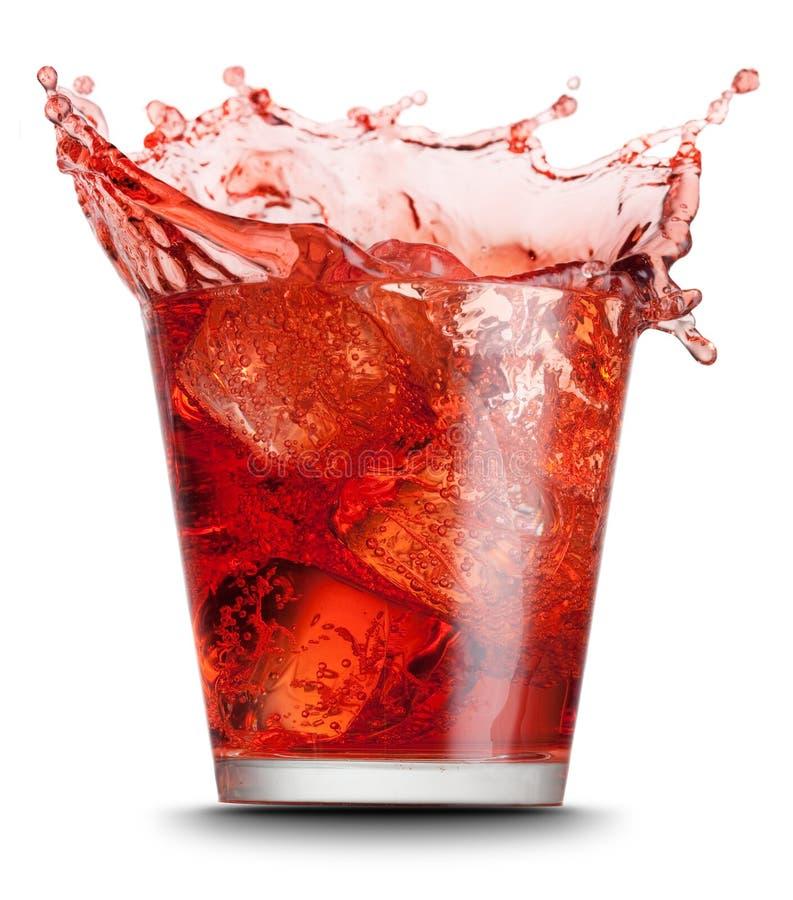 Rotes Getränk lizenzfreie stockfotografie
