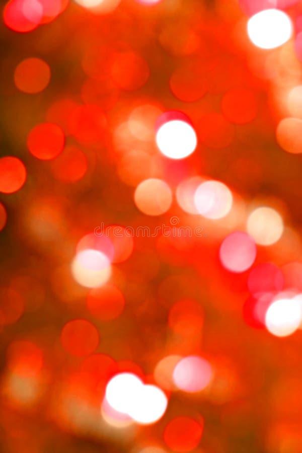 Rotes Glühenleuchteunschärfe lizenzfreie abbildung