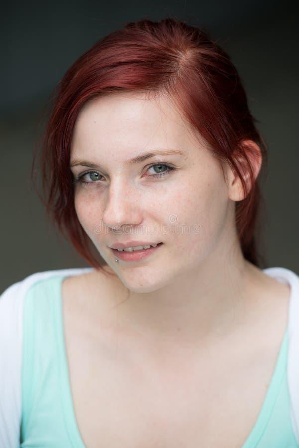 Rotes Haar stockfoto