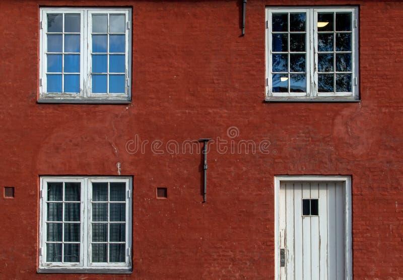 Rotes Haus in der Zitadelle lizenzfreie stockbilder