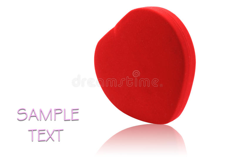 Rotes Inneres lizenzfreies stockfoto