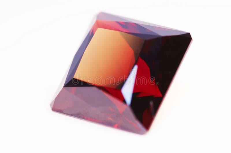 Rotes Juwel stockbild