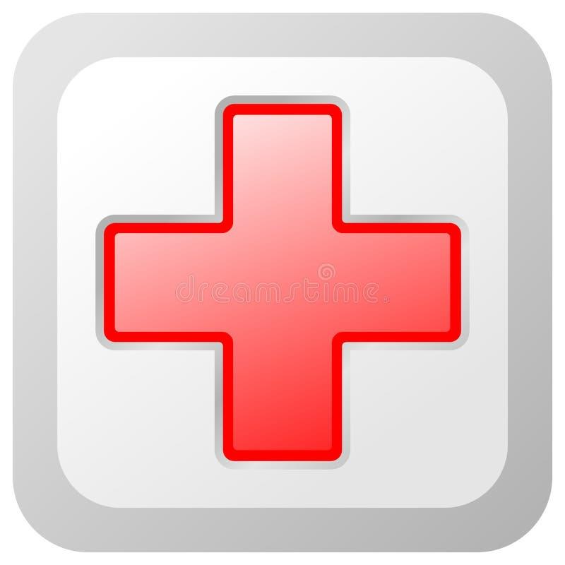 Rotes Kreuz stock abbildung
