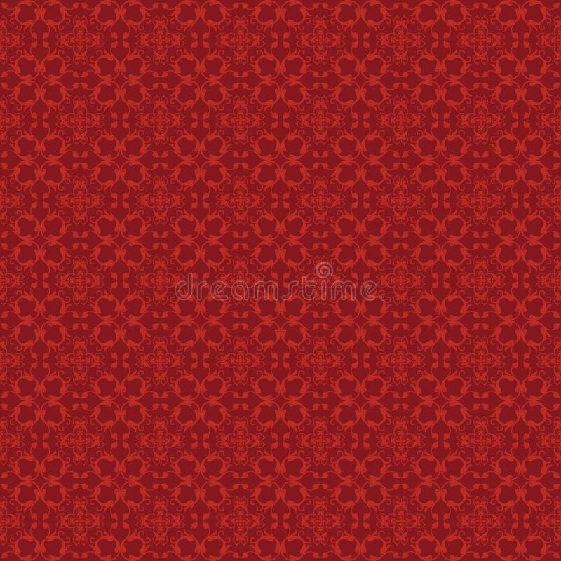 Rotes Muster - Reben stockbilder