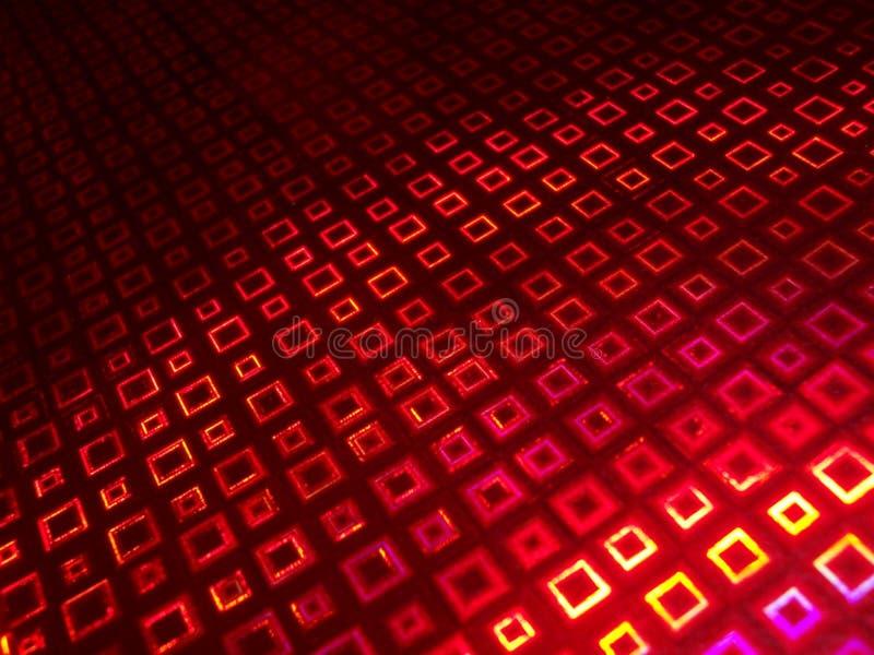 Rotes Quadrat lizenzfreie abbildung