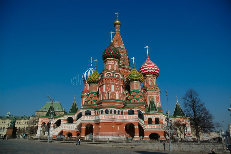 Rotes Quadrat in Moskau lizenzfreie stockfotografie