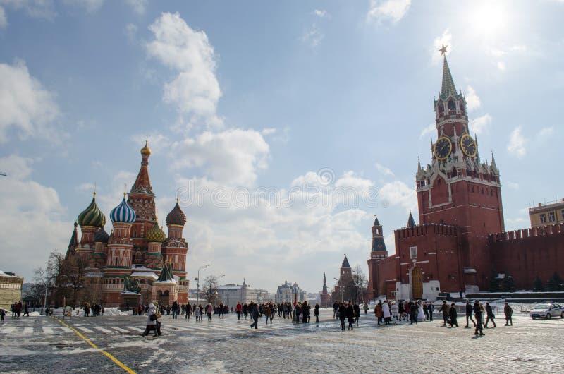 Rotes Quadrat Moskau lizenzfreies stockfoto