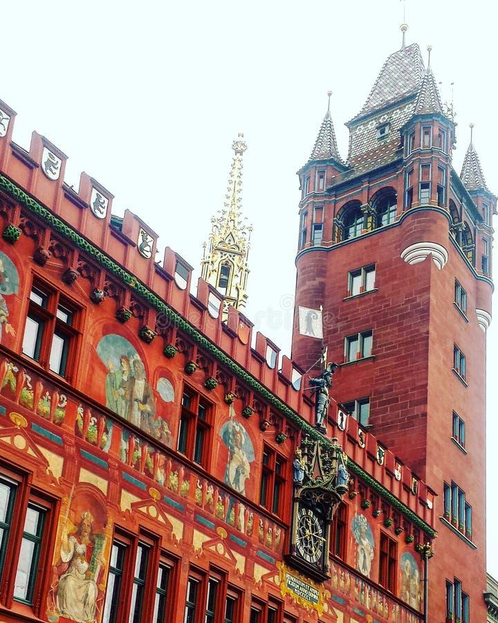 Rotes Rathaus στοκ εικόνα με δικαίωμα ελεύθερης χρήσης