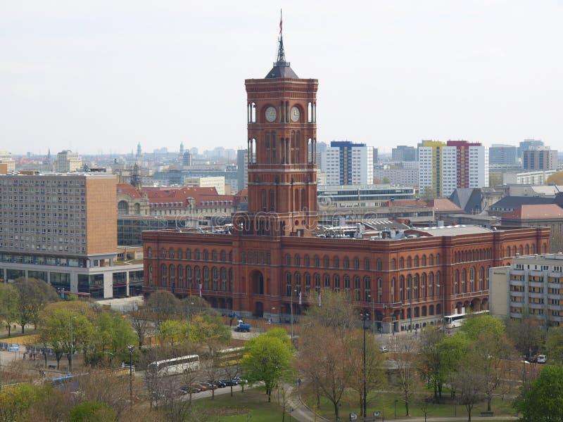 Rotes Rathaus, Berlin photographie stock libre de droits