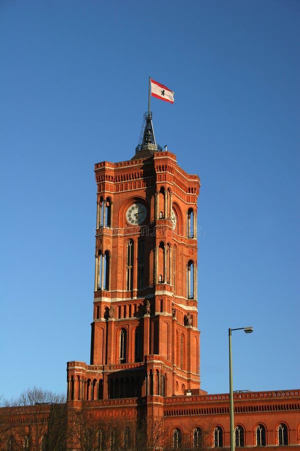 Download Rotes Rathaus (townhall Vermelho) Em Berlim Foto de Stock - Imagem de capital, germany: 12804828