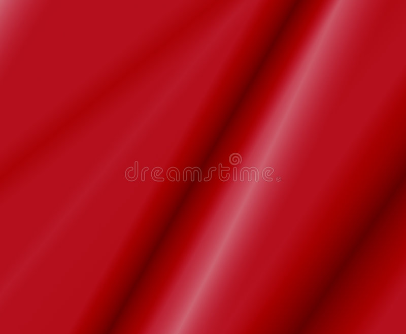 Rotes Satin-Gewebe lizenzfreie abbildung