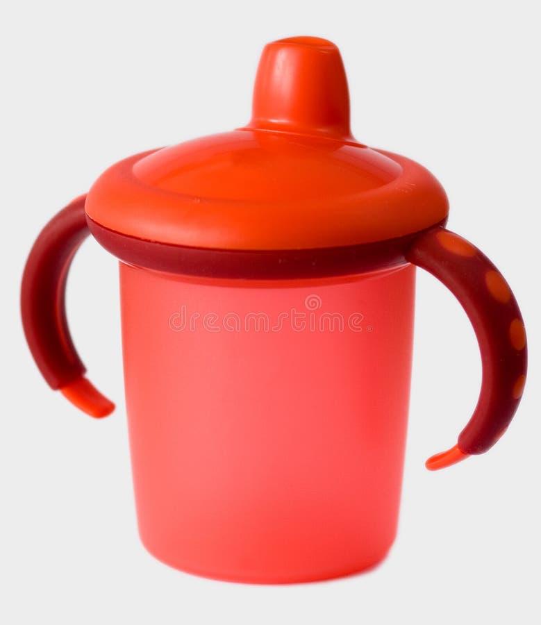Rotes Schätzchen Sipcup lizenzfreie stockfotografie
