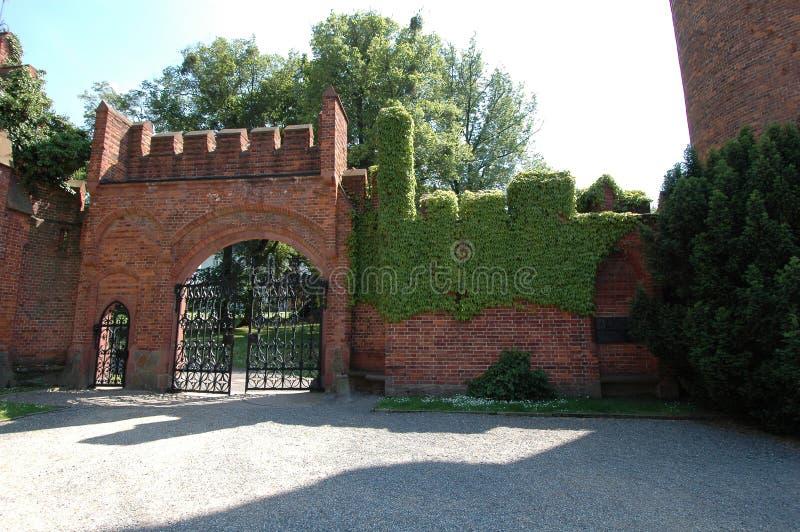 Rotes Schloss lizenzfreies stockbild