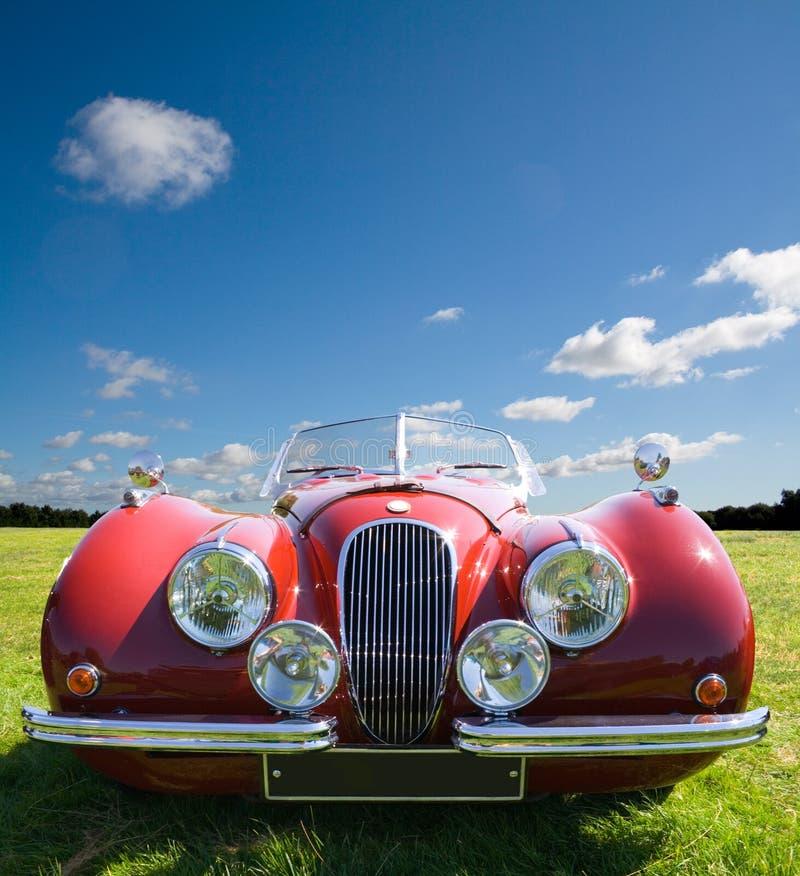 Rotes Sport-Auto lizenzfreie stockbilder