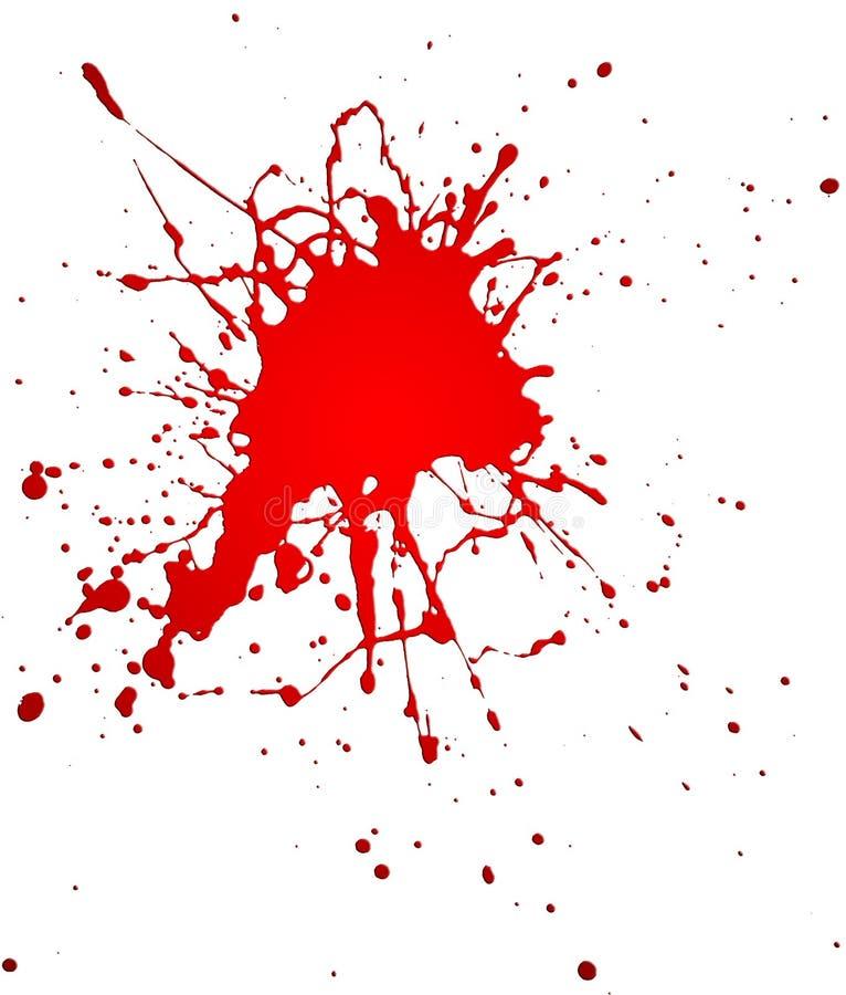 Rotes Spritzen vektor abbildung