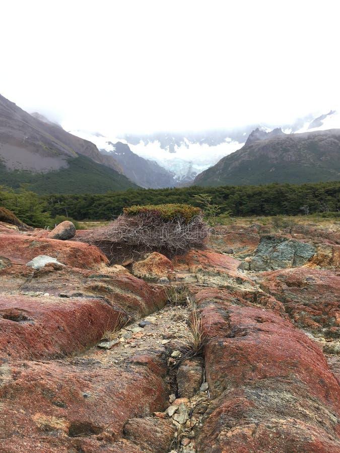 Rotes Trekking lizenzfreies stockbild