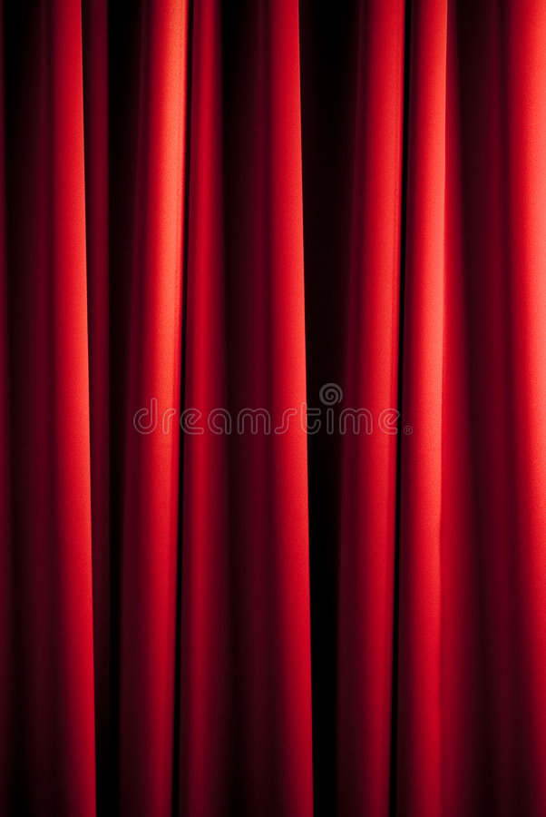 Rotes Trennvorhangmuster lizenzfreie stockfotografie